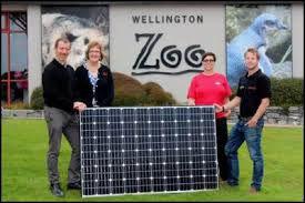 Wellington Zoo going solar!